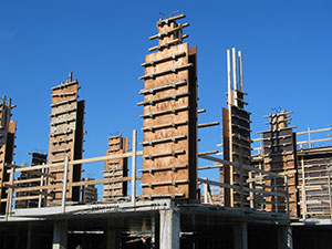 Concrete Forming Plywood Residential Complex