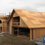 Plywood sheathed 2-storey dwelling