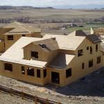 OSB 2-storey house construction