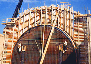 Concrete Forming HDO Plywood Panels