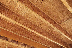 IJoist with OSB Decking
