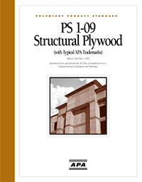 PS1-09 Structural Plywood